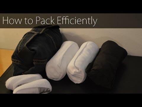 Fare la valigia senza occupare troppo posto